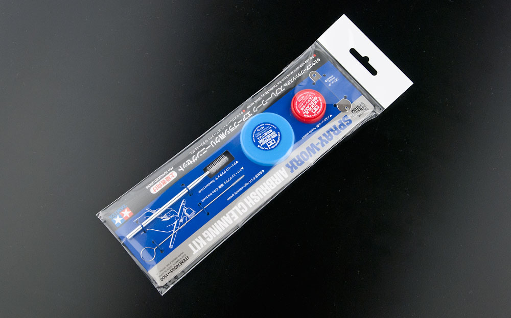 タミヤ エアーブラシシステム No.48 スプレーワーク エアーブラシ用クリーニングセット の商品画像