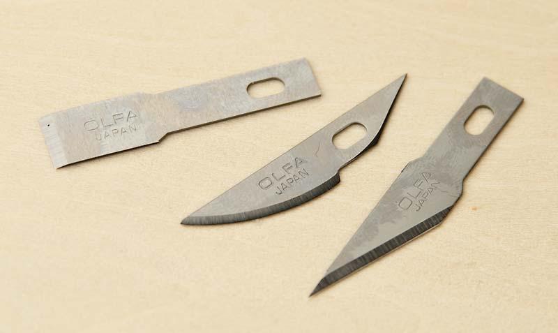 3種類の替刃