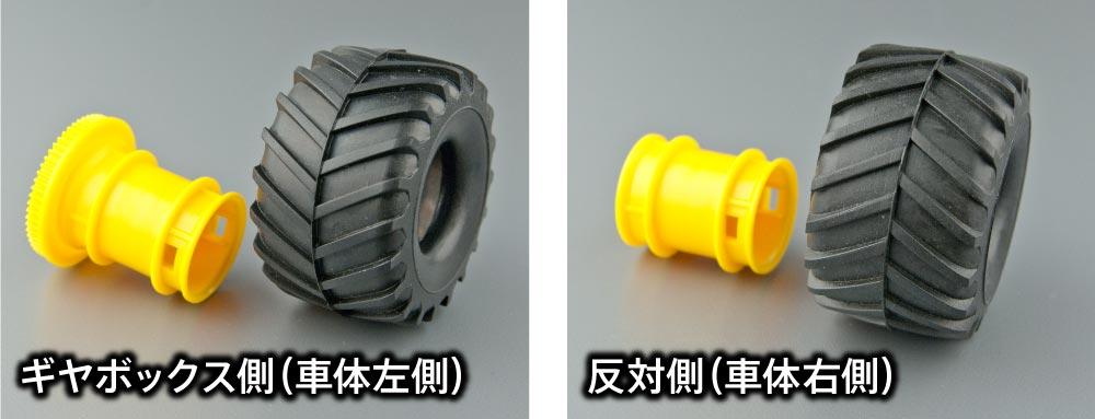 タイヤの装着方向