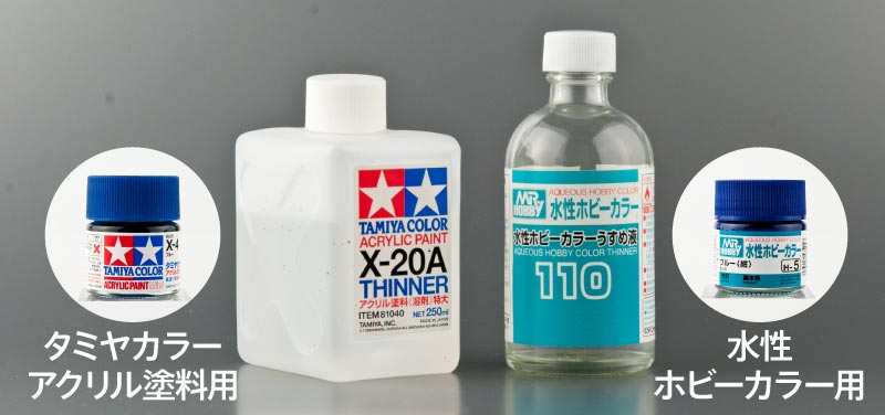 アクリル溶剤2種