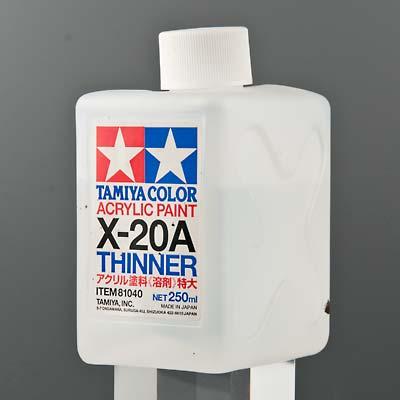 タミヤ カラー アクリル溶剤特大 (X-20A 250ml)の商品画像