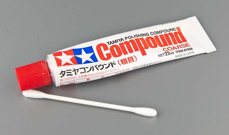 タミヤコンパウンド(粗目)