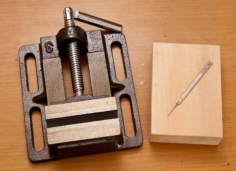 使用する道具の写真