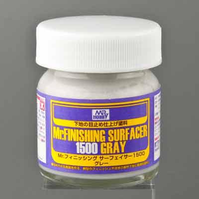 Mr.フィニッシング・サーフェイサー1500 グレー 瓶タイプの商品画像