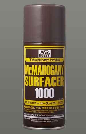 Mrマホガニーサーフェイサー1000スプレータイプのパッケージ