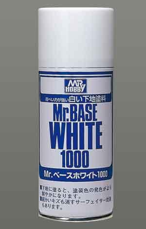 Mrベースホワイト1000スプレータイプのパッケージ