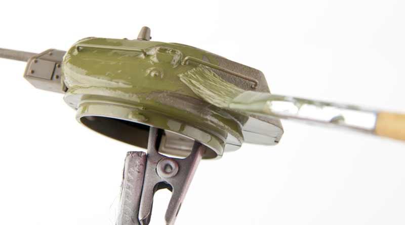 砲塔の基本塗装