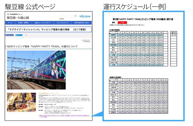 駿豆線の公式HP-スクリーンショット