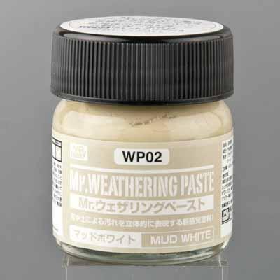 Mrウェザリングペースト (WP02) マッドホワイト