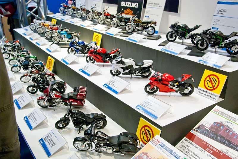 アオシマ-バイクモデルブース
