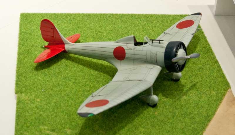 ファインモールド-九試単座戦闘機
