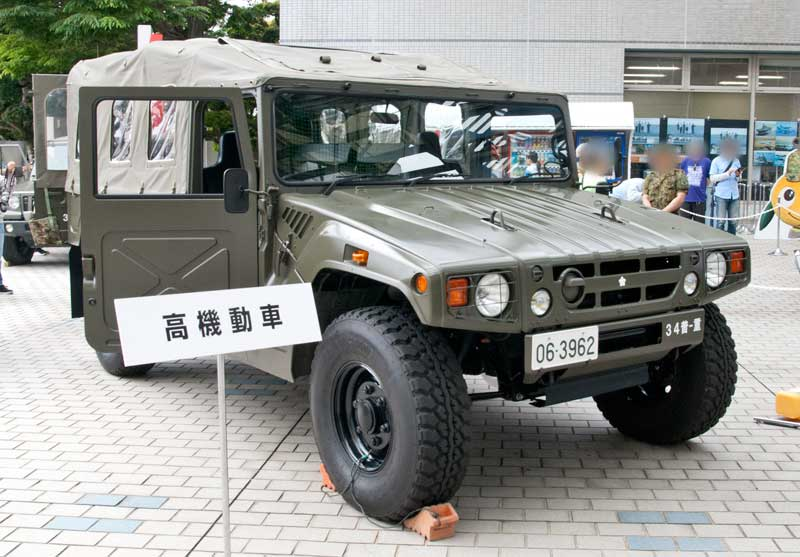 陸上自衛隊-高機動車