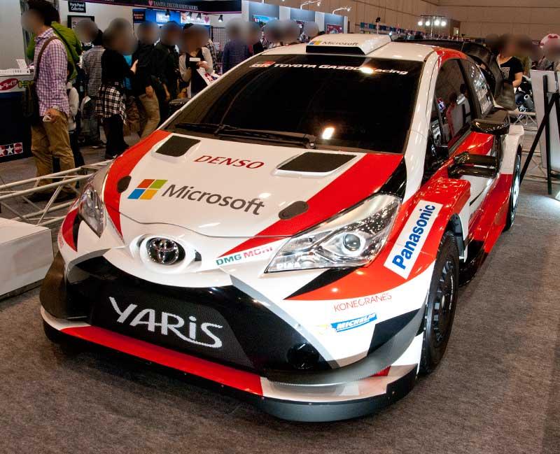 TOYOTA GAZOO Racing のYaris