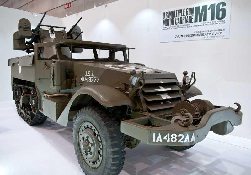 アメリカ 自走対空機銃 M16 スカイクリーナー