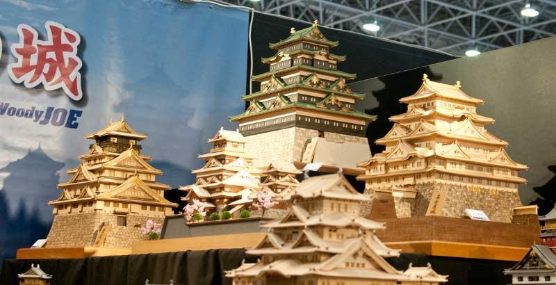 ウッディジョー-お城の模型