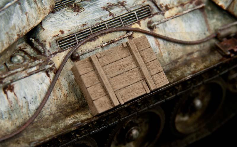 木製の車載工具ボックス