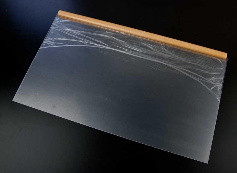 アクリル板のビニール保護材