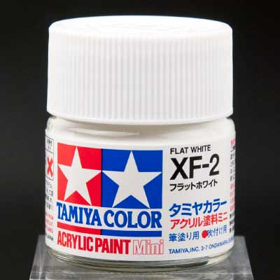 タミヤカラー アクリル塗料ミニ XF-2 フラットホワイト