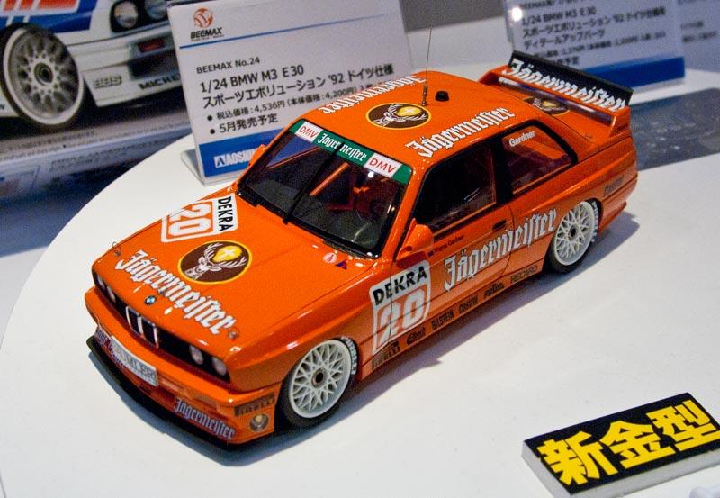 BEEMAX 1/24 BMW M3 E30 スポーツエボリューション '92 ドイツ仕様