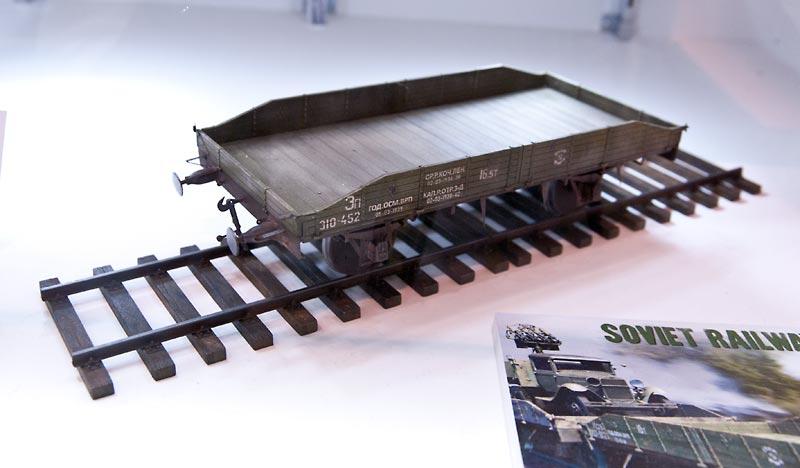 ソビエト無蓋貨車 16.5-18トン