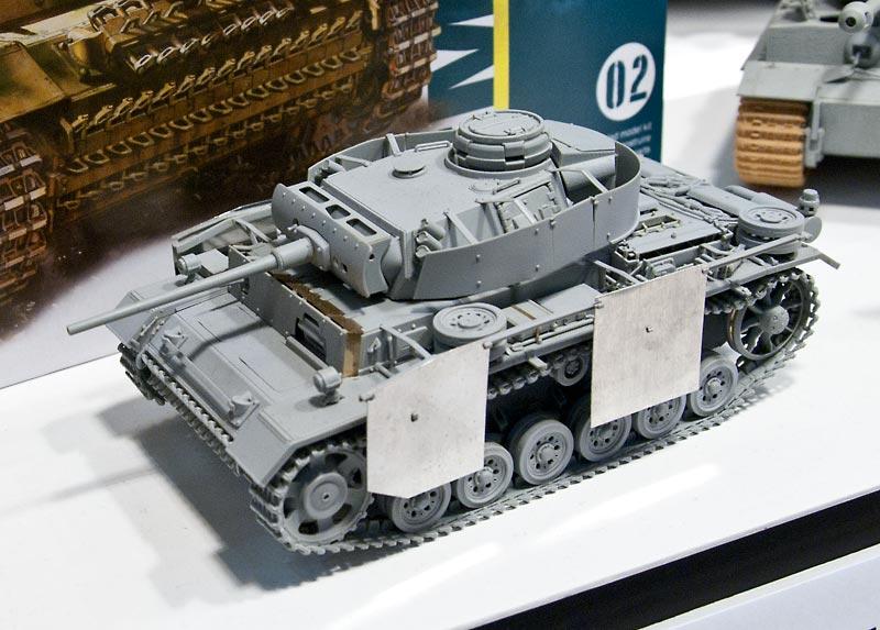 ドラゴン 1/35 3号戦車M型 完成見本